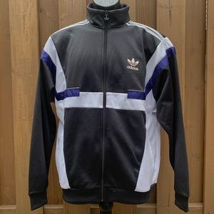 Adidas Retro Inspired Zip Up Track Suit Jacket.